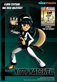 Nicktoons kitty katswell alternate costume by neweraoutlaw-d5h6zsz