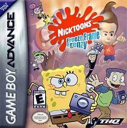Nicktoons Freeze Frame Frenzy Cover