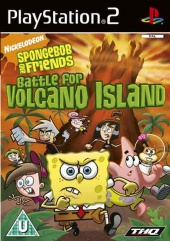 Nickelodeon Spongebob and friends Battle for Volcano Island