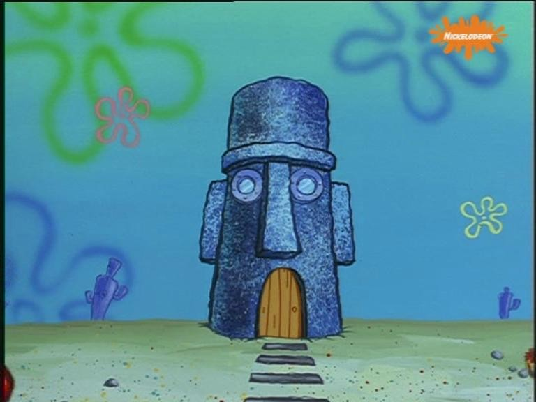 Squidward Tentacles House