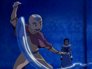 Aang teaches Katara