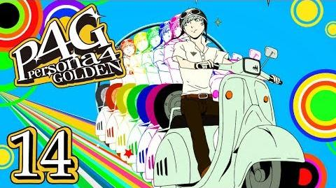 THEY SEE ME ROLLIN' - Let's Play - Persona 4 Golden - 14 - Walkthrough Playthrough