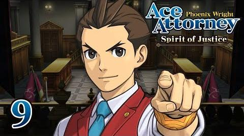 SWORD SWAP - Let's Play - Phoenix Wright Ace Attorney Spirit of Justice - 9 - Playthrough