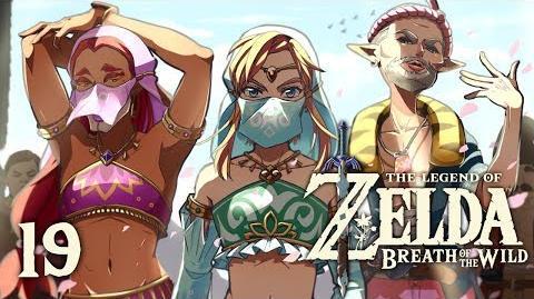 GIRL POWER - Let's Play - The Legend of Zelda Breath of the Wild - 19 - Walkthrough Playthrough