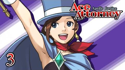 PANTY SNATCHER - Let's Play - Apollo Justice Ace Attorney - 3 - Walkthrough Playthrough