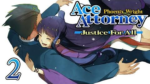 MY LITTLE BUDDY - Let's Play - Phoenix Wright Justice For All - 2 - Walkthrough Playthrough