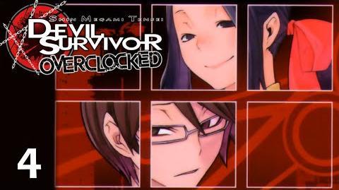 NO ESCAPE - Let's Play - Devil Survivor Overclocked - 4 - Walkthrough Playthrough
