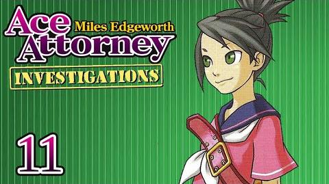 PROMISE BOOK - Let's Play - Ace Attorney Investigations Miles Edgeworth - 11 - Playthrough