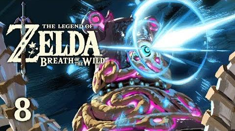 GUARDIAN BATTLE - Let's Play - The Legend of Zelda Breath of the Wild - 8 - Walkthrough Playthrough