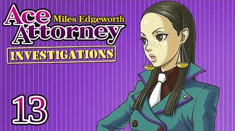 THREE LEGS - Let's Play - Ace Attorney Investigations Miles Edgeworth - 13 - Playthrough