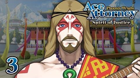 ROCKIN' JESUS - Let's Play - Phoenix Wright Ace Attorney Spirit of Justice - 3 - Playthrough