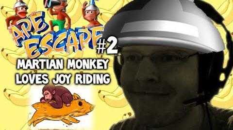 Let's Play - Ape Escape - 2 - MARTIAN MONKEY LOVES JOY RIDING