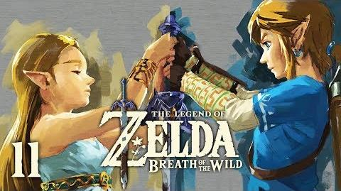 MASTER SWORD - Let's Play - The Legend of Zelda Breath of the Wild - 11 - Walkthrough Playthrough