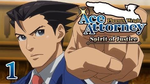 A STRANGE LAND - Let's Play - Phoenix Wright Ace Attorney Spirit of Justice - 1 - Playthrough