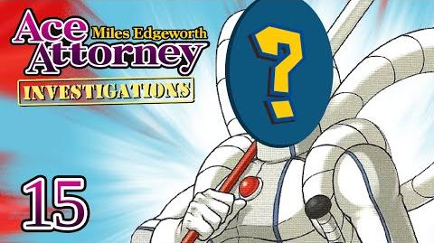 WHO'S THAT SAMURAI? - Let's Play - Ace Attorney Investigations Miles Edgeworth - 15 - Playthrough