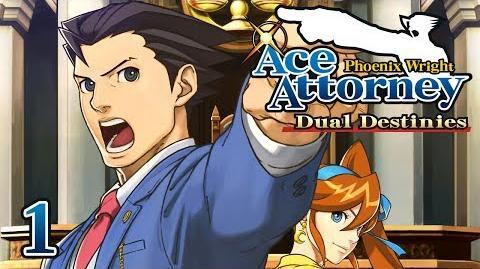 HE'S BACK! - Let's Play - Phoenix Wright Ace Attorney Dual Destinies - 1 - Walkthrough Playthrough