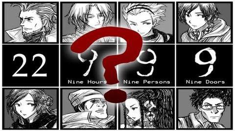 THE KILLER REVEALED - Let's Cry - 999 Nine Hours, Nine Persons, Nine Doors - 22