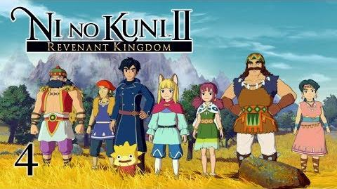 A NEW HOME - Let's Play - Ni no Kuni 2 Revenant Kingdom - 4 - Walkthrough Playthrough