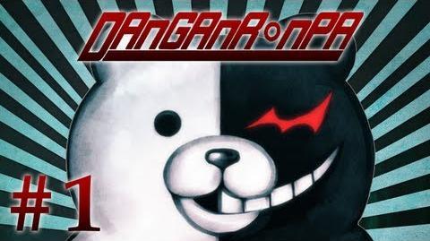 SUPER DUPER HIGH SCHOOL NICO - Let's Play - Dangan Ronpa Trigger Happy Havoc - 1