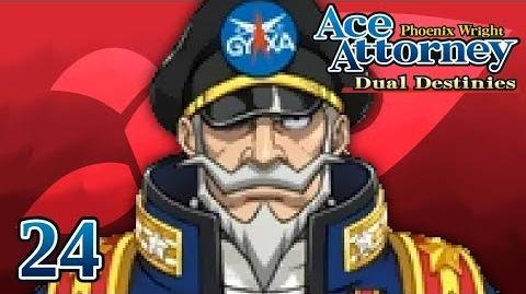 A GREAT MAN - Let's Play - Phoenix Wright Ace Attorney Dual Destinies - 24 - Playthrough