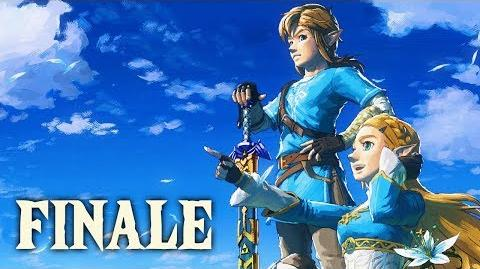 SAVING HYRULE - Let's Play - The Legend of Zelda Breath of the Wild - 28 - Ending