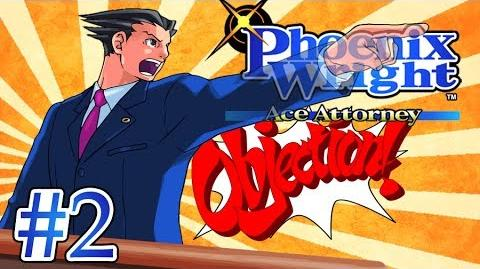 DETECTIVE SUEDESHOES - Let's Play - Phoenix Wright Ace Attorney - 2