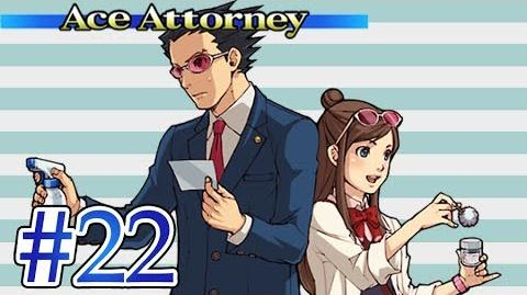 EVIDENCE BLOWING! - Let's Play - Phoenix Wright Ace Attorney - 22