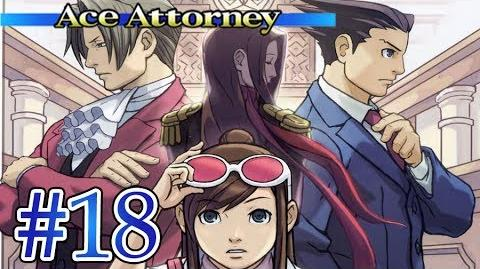 THE JUDGE'S NEW LOVE - Let's Play - Phoenix Wright Ace Attorney - 18