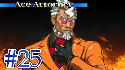 DON'T MESS WITH THE GANT - Let's Play - Phoenix Wright Ace Attorney - 25