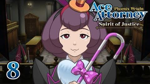 BAD BUNNY - Let's Play - Phoenix Wright Ace Attorney Spirit of Justice - 8 - Playthrough