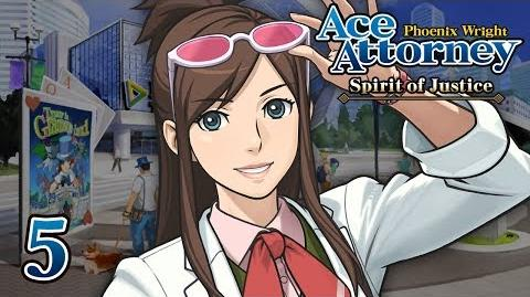 BEAUTIFUL FORENSICS - Let's Play - Phoenix Wright Ace Attorney Spirit of Justice - 5 - Playthrough