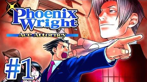 OBJECTION DAMMIT!! - Let's Play - Phoenix Wright Ace Attorney - 1