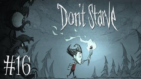 MAN VS TREE VS TENTACLE - Let's Play - Don't Starve - 16