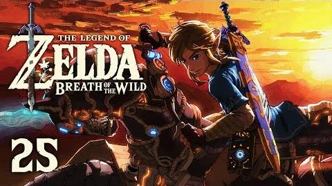MASTER CYCLE - Let's Play - The Legend of Zelda Breath of the Wild - 25 - Walkthrough Playthrough