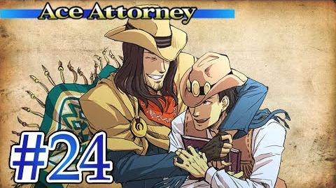THE LONE COWBOY - Let's Play - Phoenix Wright Ace Attorney - 24