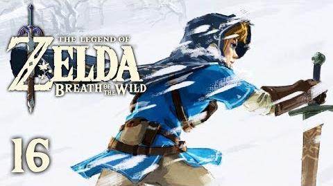 SNOWY PEAKS - Let's Play - The Legend of Zelda Breath of the Wild - 16 - Walkthrough Playthrough