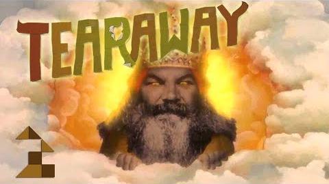ANGRY SUN GOD NICO - Let's Play - Tearaway - 2