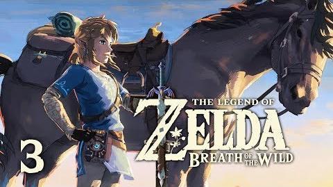 WILD HORSES - Let's Play - The Legend of Zelda Breath of the Wild - 3 - Walkthrough Playthrough