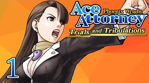 BACK THEN - Let's Play - Phoenix Wright Trials and Tribulations - 1 - Walkthrough Playthrough