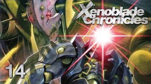 METAL FACE - Let's Play - Xenoblade Chronicles - 14 - Walkthrough Playthrough