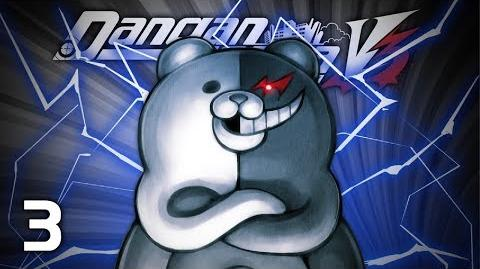PAPA KUMA - Let's Play - Danganronpa V3 Killing Harmony (DRV3) - 3 - Walkthrough Playthrough