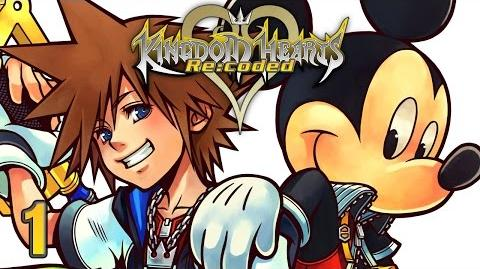 DATA CORRUPTED - Let's Watch - Kingdom Hearts Re coded HD - 1