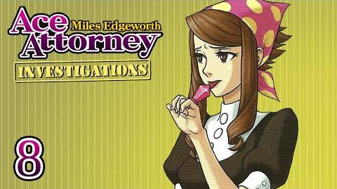 PATSY POP - Let's Play - Ace Attorney Investigations Miles Edgeworth - 8 - Playthrough