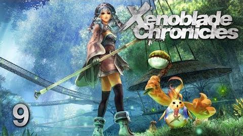 THE PRINCESS AND THE FUR BALL - Let's Play - Xenoblade Chronicles - 9 - Walkthrough Playthrough