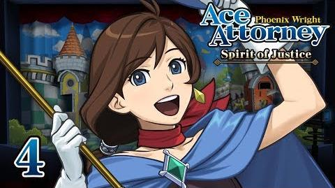 TRUCY'S SHOW - Let's Play - Phoenix Wright Ace Attorney Spirit of Justice - 4 - Playthrough