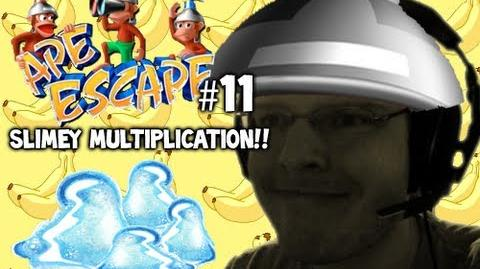 Let's Play - Ape Escape - 11 - SLIMEY MULTIPLICATION!!