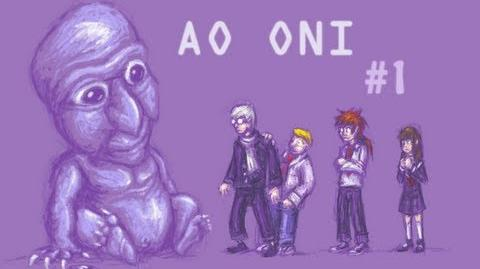 BARNEY, THE PURPLE DEMON - Let's Cry - Ao Oni - 1