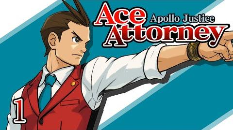 NEW BLOOD - Let's Play - Apollo Justice Ace Attorney - 1 - Walkthrough Playthrough