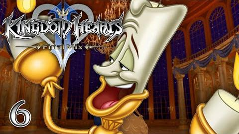 TALE AS OLD AS TIME - Let's Play - Kingdom Hearts 2 Final Mix HD - 6 - Walkthrough Playthrough