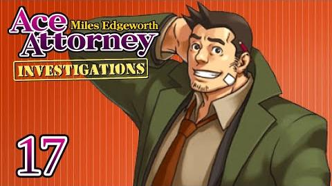 TAKING FLIGHT - Let's Play - Ace Attorney Investigations Miles Edgeworth - 17 - Playthrough